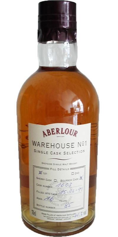 Aberlour 1994 Warehouse No. 1