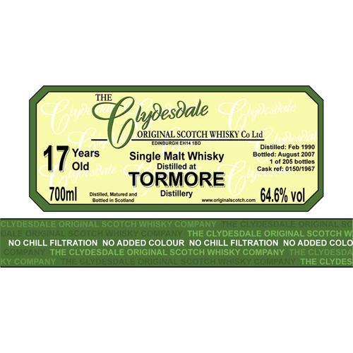 Tormore 1990 TCO