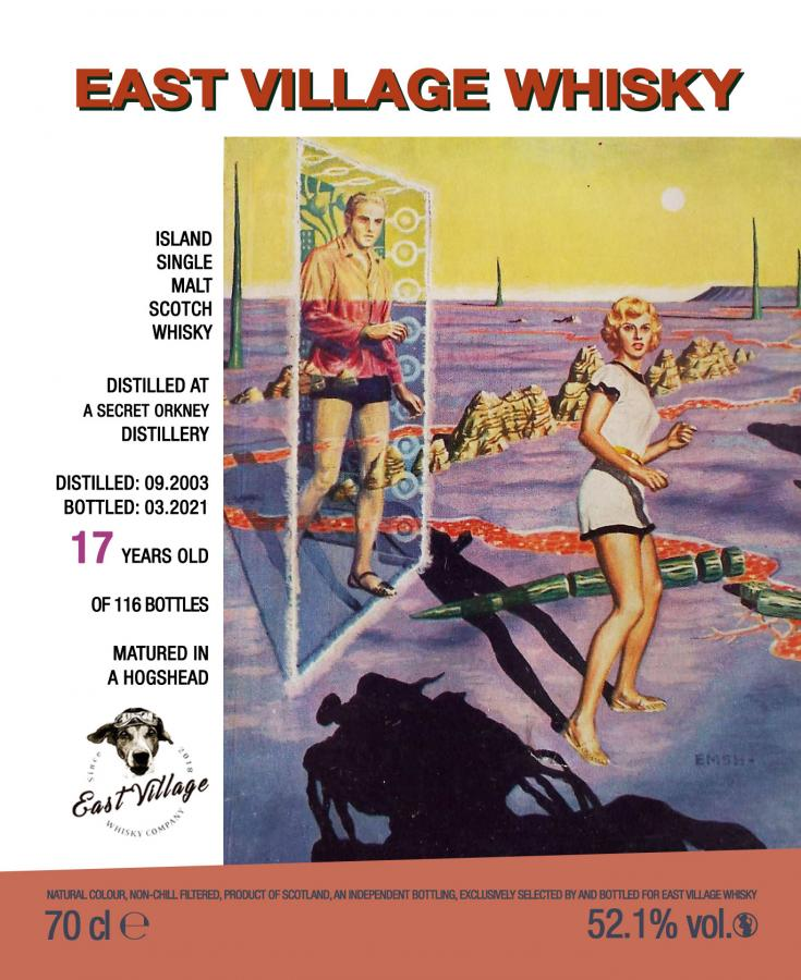 A Secret Orkney Distillery 2003 EVWC