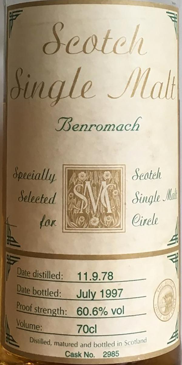 Benromach 1978 MC