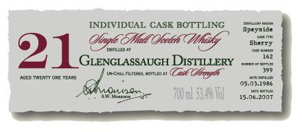 Glenglassaugh 1986 DR