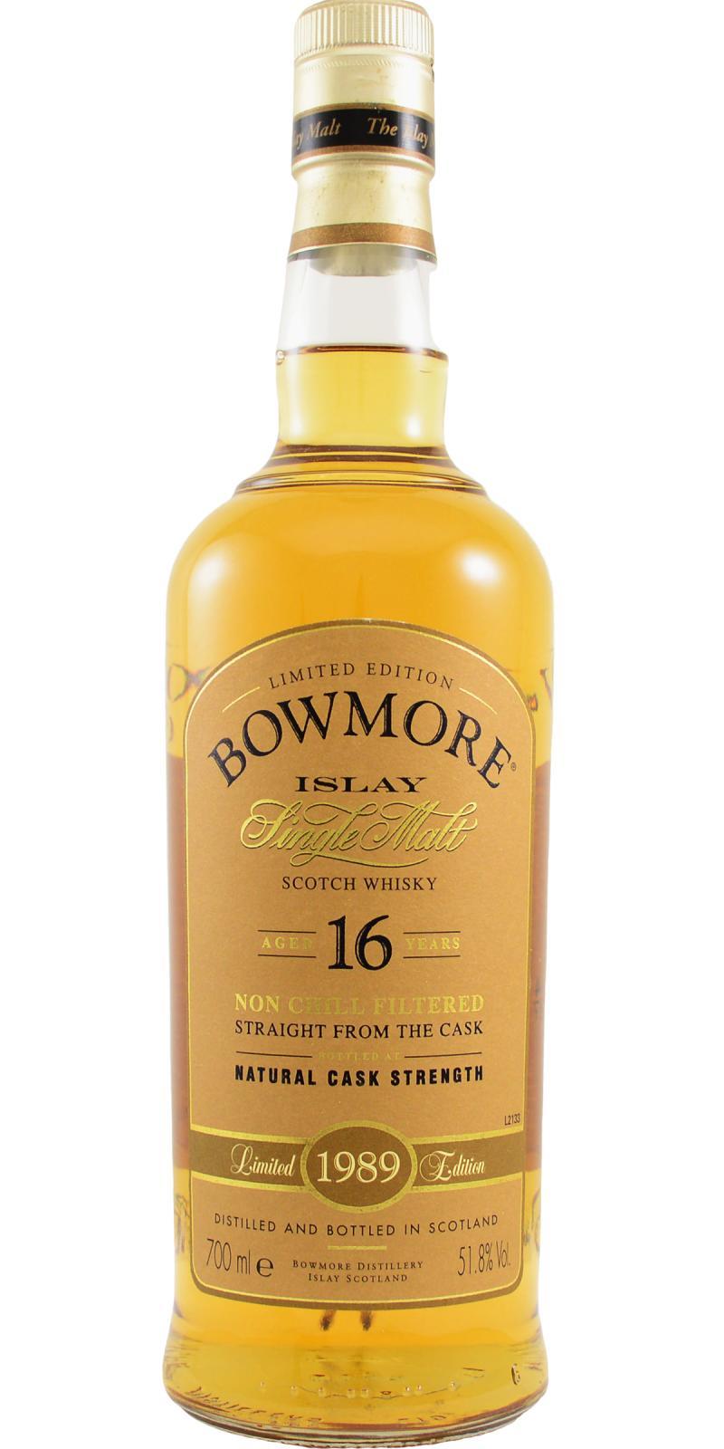 Bowmore 1989 Bourbon Matured