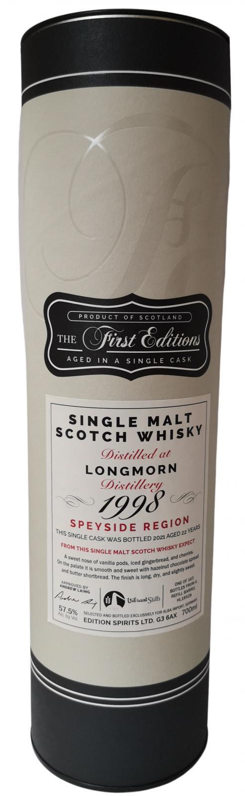 Longmorn 1998 ED