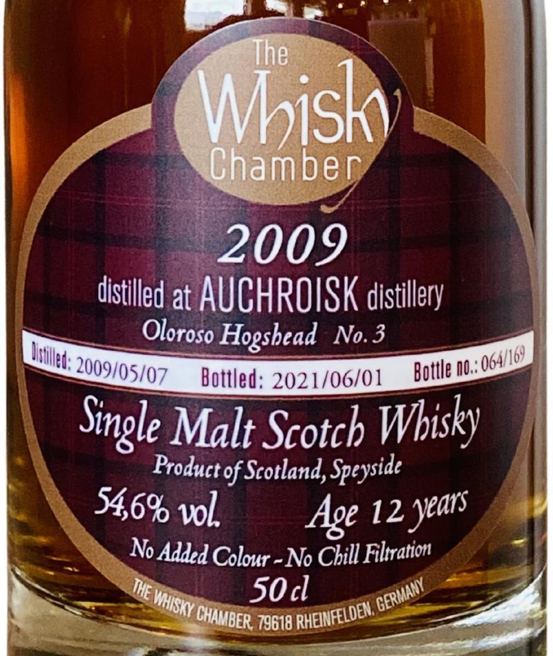 Auchroisk 2009 WCh