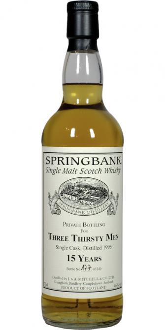 Springbank 1995 Private Bottling