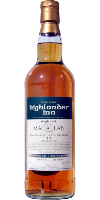 Macallan 1988 HI