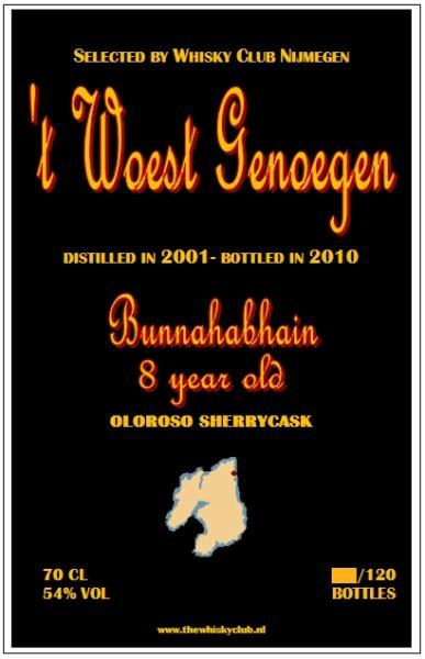 Bunnahabhain 2001