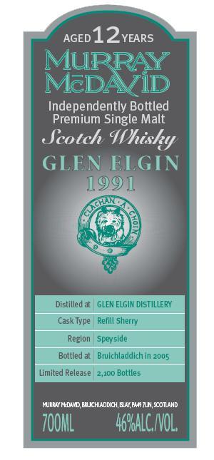 Glen Elgin 1991 MM