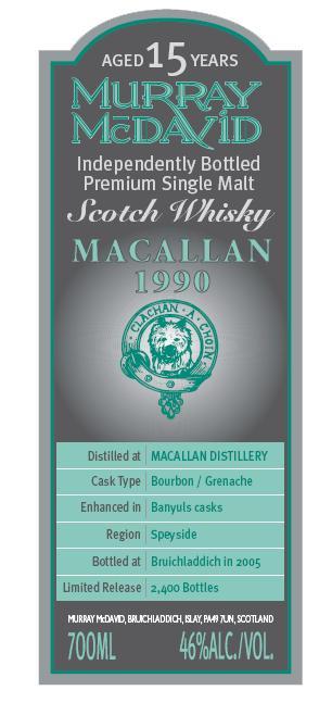 Macallan 1990 MM