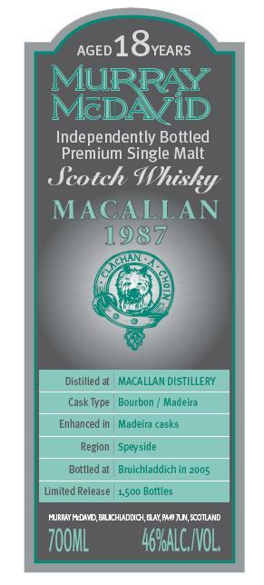 Macallan 1987 MM