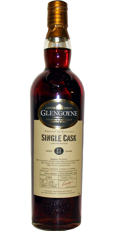 Glengoyne 1999 Sherry