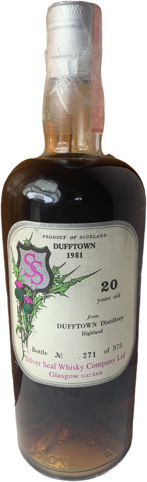 Dufftown 1980 SS