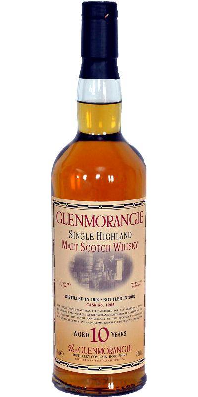 Glenmorangie 1992 10th Anniversary