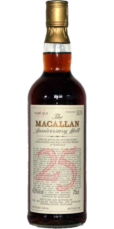 Macallan 1958/59
