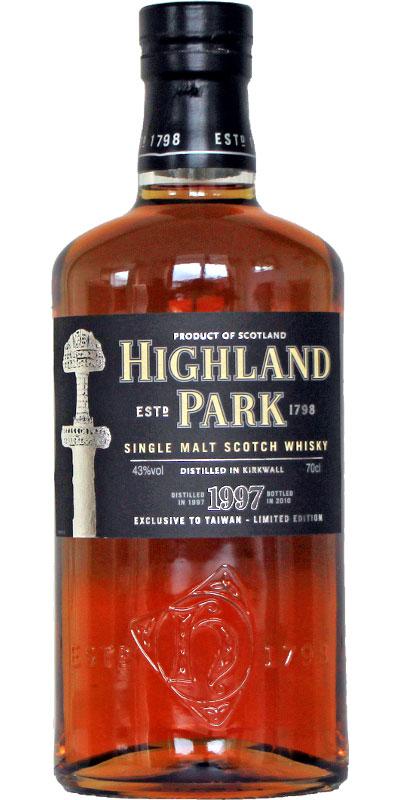 Highland Park 1997 - The Sword