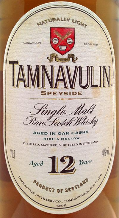 Tamnavulin 12-year-old