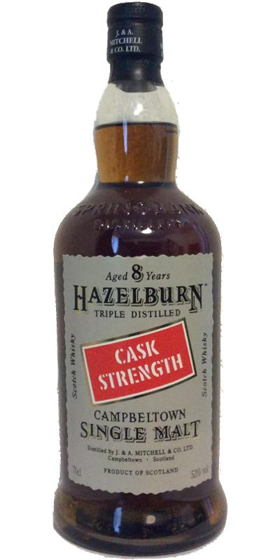 Hazelburn 08-year-old