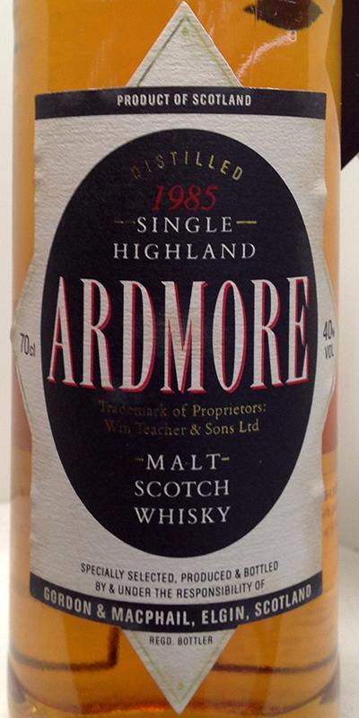 Ardmore 1985 GM
