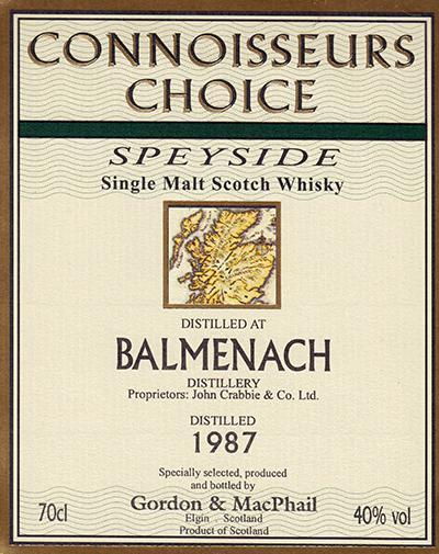 Balmenach 1987 GM