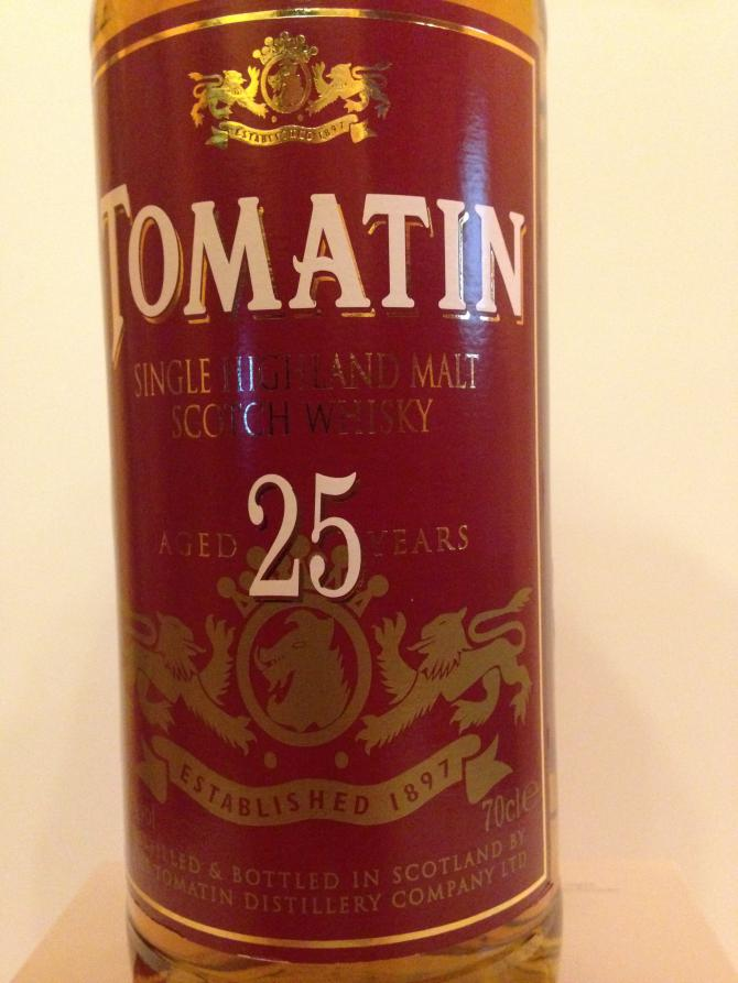 Tomatin 25-year-old