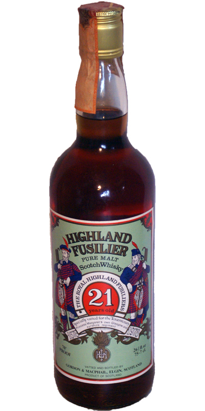 Highland Fusilier 21-year-old GM