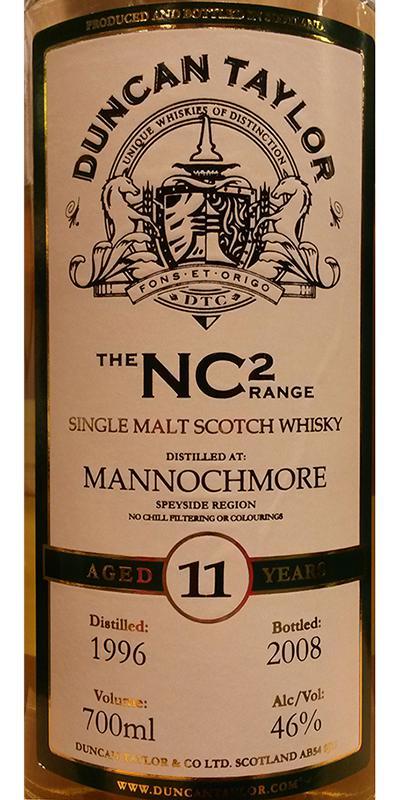 Mannochmore 1996 DT
