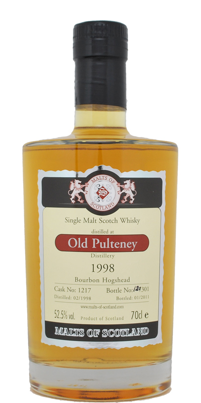 Old Pulteney 1998 MoS