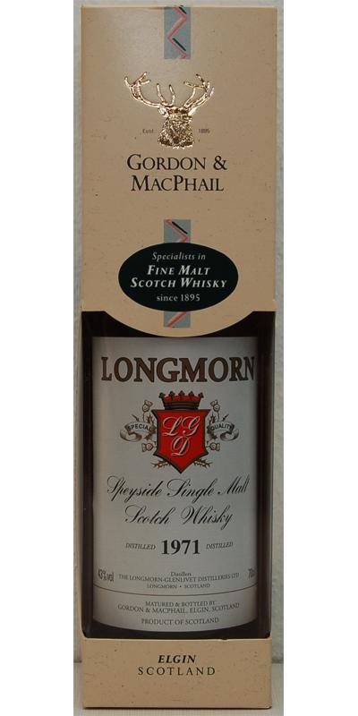 Longmorn 1971 GM