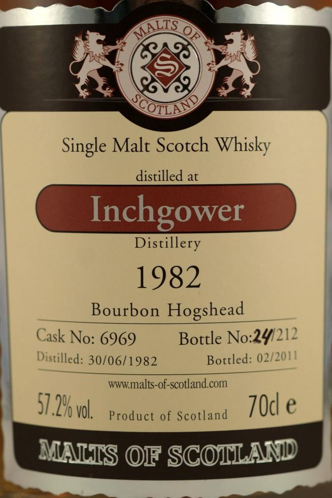 Inchgower 1982 MoS