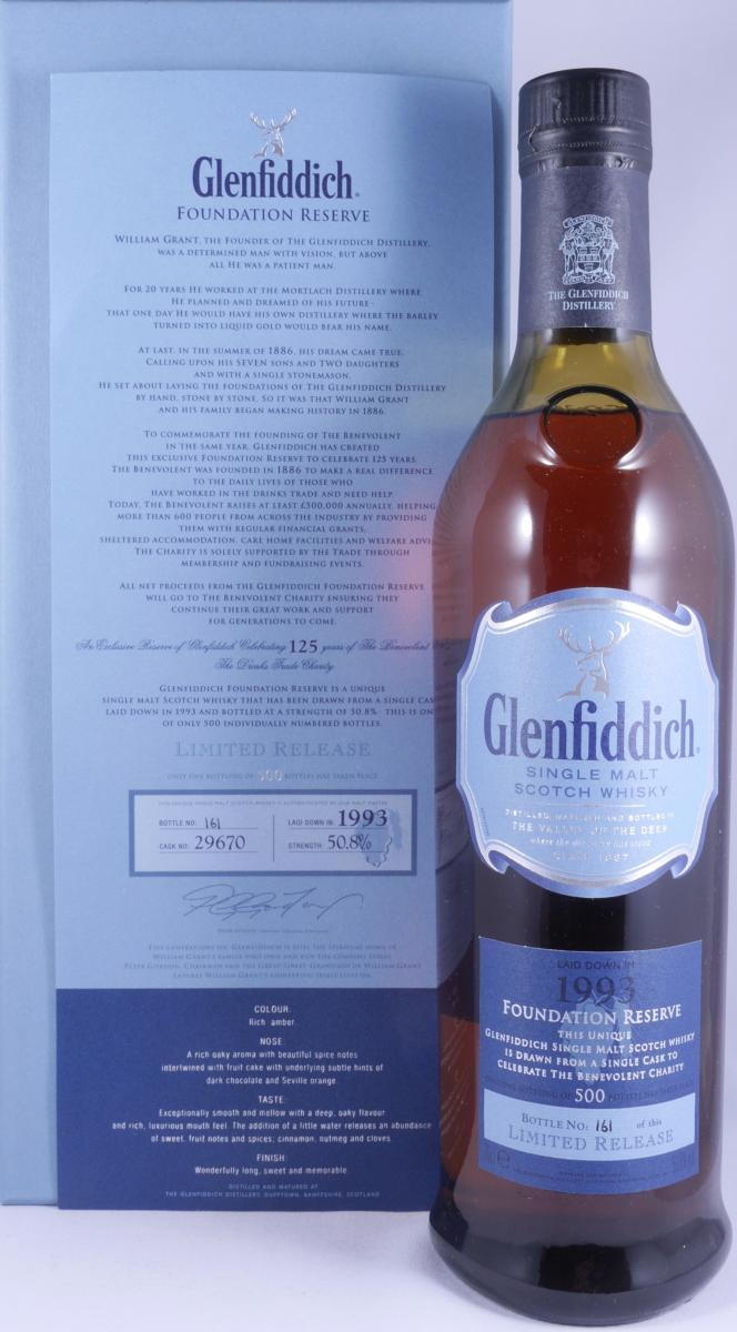 Glenfiddich 1993 Foundation Reserve
