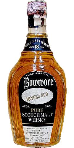 Bowmore 18-year-old Sherriff's