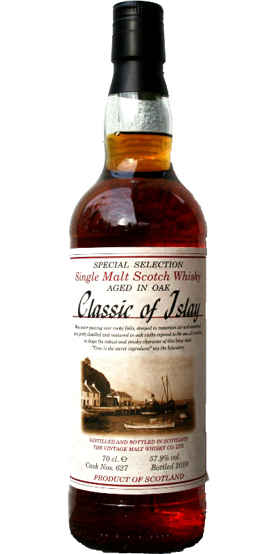 Classic of Islay Vintage 2010 JW