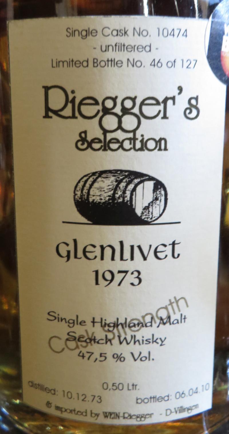 Glenlivet 1973 RS
