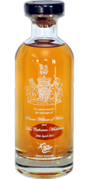 The English Whisky Royal Marriage Commemorative Bottling
