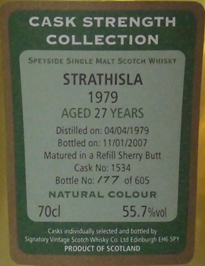 Strathisla 1979 SV