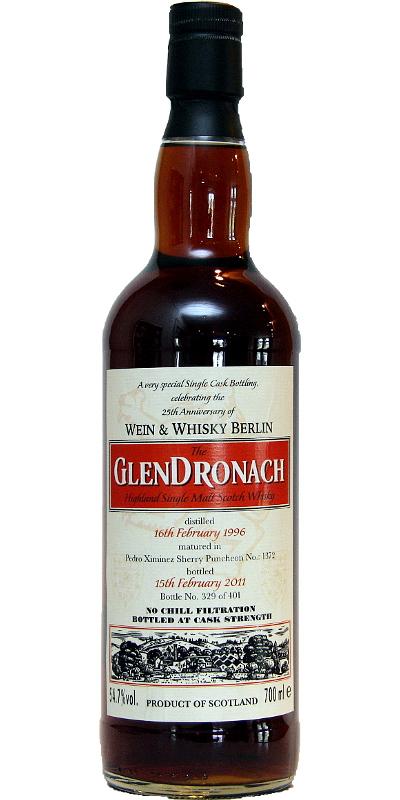 Glendronach 1996 Wk