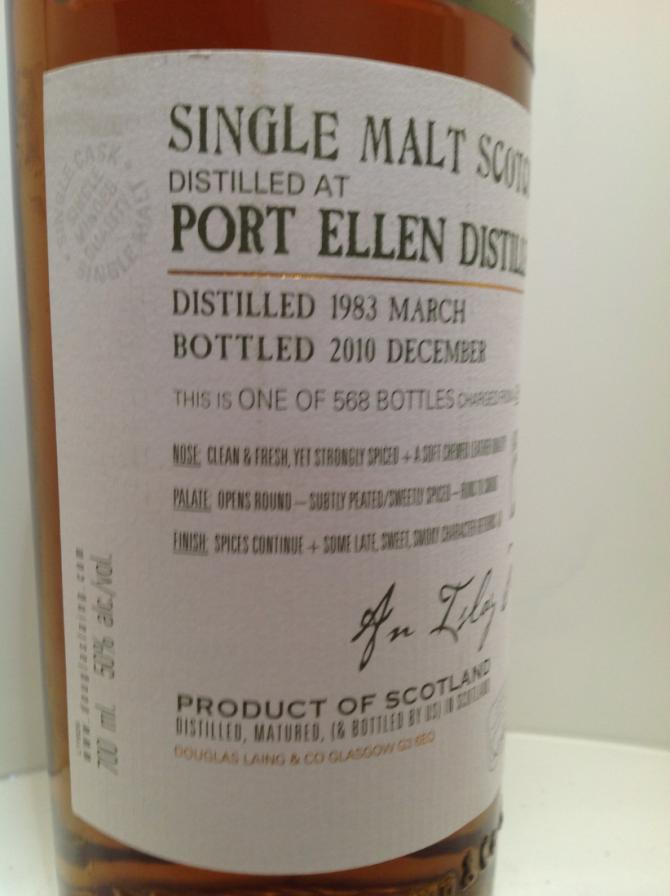 Port Ellen 1983 DL