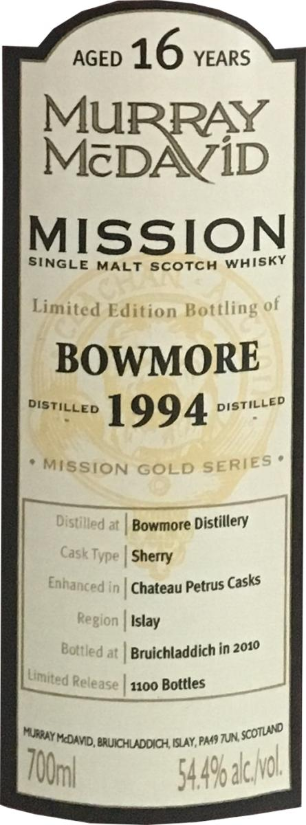 Bowmore 1994 MM