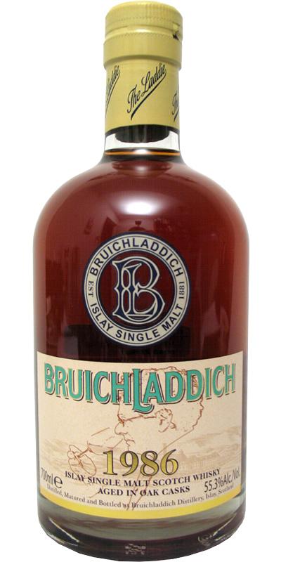Bruichladdich 1986