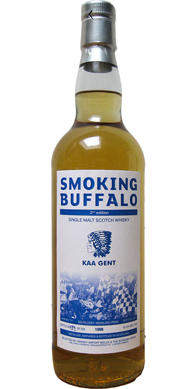 Highland Park 1998 Bd Smoking Buffalo