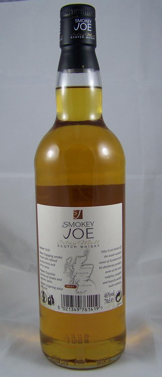 Smokey Joe Islay Malt Scotch Whisky