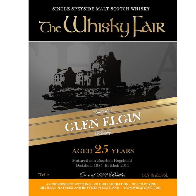 Glen Elgin 1985 WF