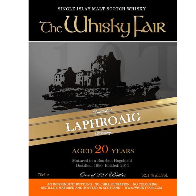 Laphroaig 1990 WF