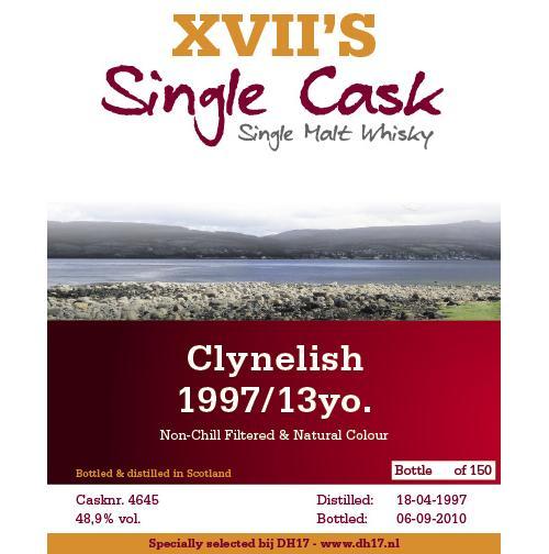 Clynelish 1997 DH17