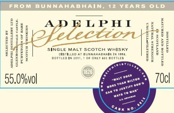 Bunnahabhain 1998 AD