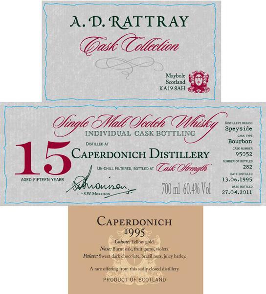Caperdonich 1995 DR