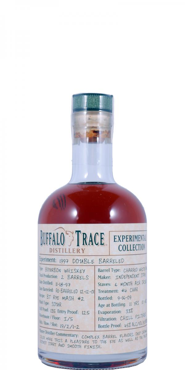 Buffalo Trace 1997 Double Barreled