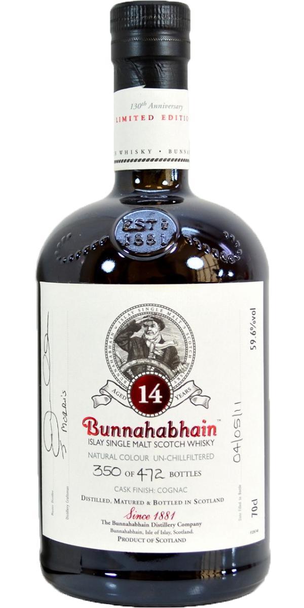 Bunnahabhain 14-year-old Feis Ile 2011