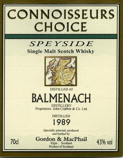 Balmenach 1989 GM