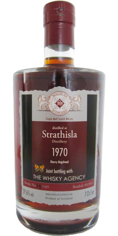 Strathisla 1970 MoS